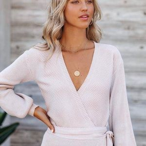 NWT Vici Best for last wrap top
